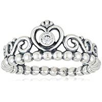 Pandora Women's 925 Sterling Silver Ring,N (54 (17.2)) (190880CZ-54)