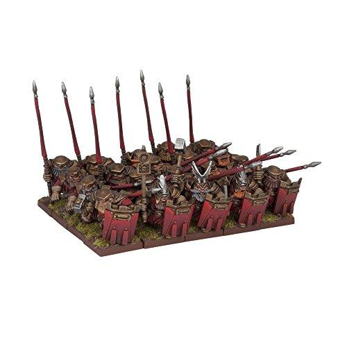 Fantasy Figuren Miniatur (Dwarf Bulwarkers Regiment (20 Miniaturen))
