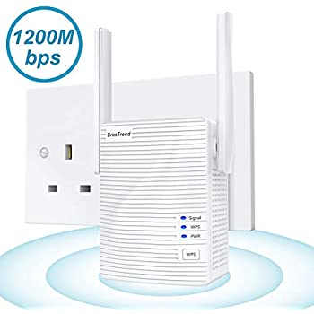 FLASHOWL Outdoor Wireless Network/Extenders WiFi Repeaters Wi-Fi Range Extender AC600 Signal Booster Dual Band Router Weatherproof AP wi-fi Amplifier 2.4G 5ghz 600Mbps WiFi Bridge with Ethernet Port