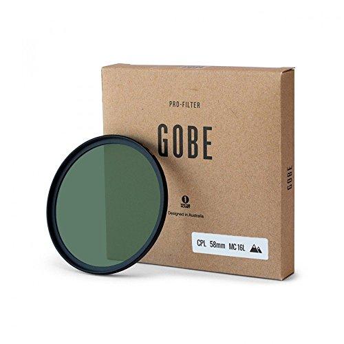 Gobe CPL 58mm JapanOptic 16-Schichtenmehrfach vergüteter Polarisationsfilter