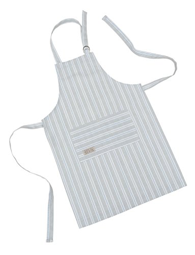 Cottage in the Hills Organic Cotton Adult Kitchen Apron Ledbury Blue Grey