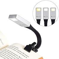 Lampe de lecture OxyLED Lampe de lecture - Lampe de lecture - Éclairage de lit avec 3 niveaux de luminosité - Flexible et USB rechargeable - Lampe à pince pour chambre, lecture, apprentissage - Travail - Classe énergétique A + +