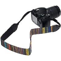 BIREUGEAR Correa para cámaras de fotos digitales, neopreno y nylon, multicolor