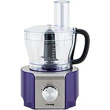 H.Koenig MX 18 MX18 Procesador de Alimentos multifunción Morado, 800W, 1,