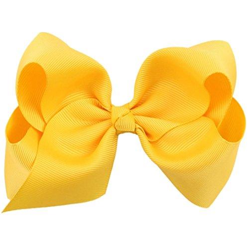 oyedens-big-bow-hairpins-hair-clips-for-children-kids-girls-hair-accessories-yellow