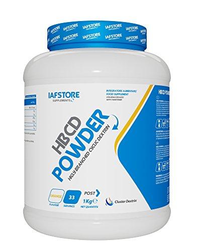 HBCD Powder integratore alimentare di carboidrati con ciclodestrine altamente ramificate 1000 g