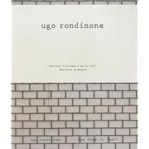 Ugo Rondine. How does it feel ?
