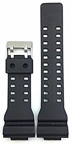 16mm Bracelet noir en polyuréthane (PU) G Shock style