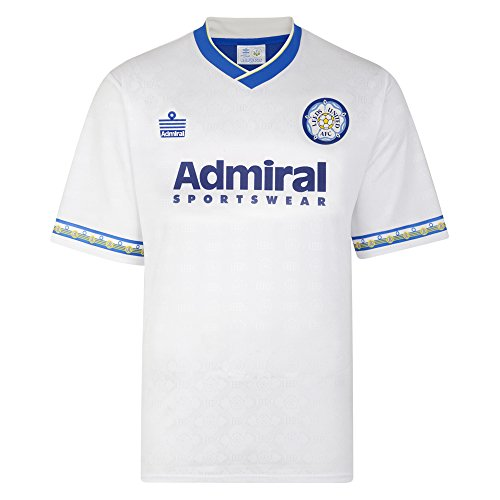 Official Retro Leeds United 1993 Admiral Retro Football Shirt 100  POLYESTER