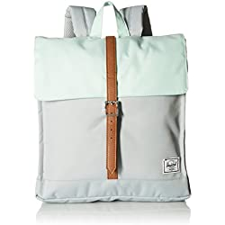 Mochila Herschel Supply City Backpack Mid Mint Grey