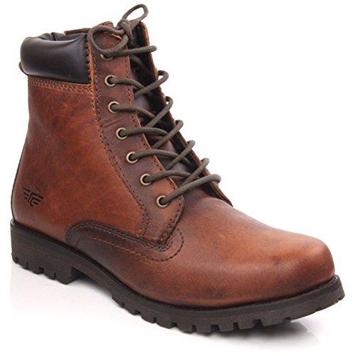 Unze Eloi' Herren Schuhe Freizeit Schnürstiefel - (Verkauf Boots Zum Herren)