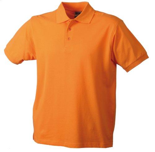 James & Nicholson Jungen Poloshirt Classic Polo Junior, Gr. Small (Herstellergröße: S (110/116)), Orange