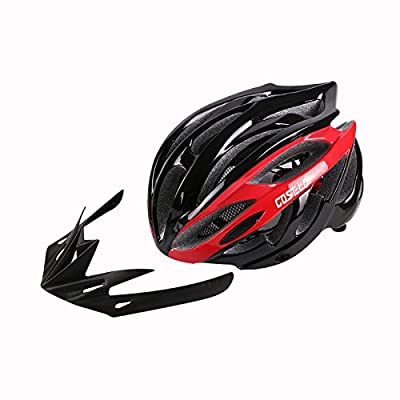 210g Ultra Light Weight - Cycle Cycling Road Bike Mountain MTB Bicycle Safety Helmet - Safety Certified Bicycle Helmets For Adult Men & Women, Teen Boys & Girls - Comfortable , Lightweight , Breathable from Zidz
