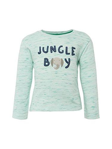 TOM TAILOR Kids Unisex Baby T-Shirts 1/1, Mehrfarbig (Original Multicolored 0004), 62 (Filz-logo-t-shirt)