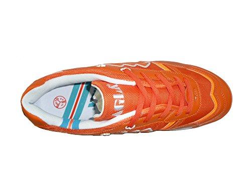 AGLA PROFESSIONAL CONDOR LIGHT OUTDOOR scarpe calcetto futsal con anti-shock Orange/White