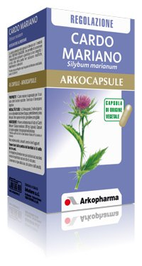 Arkopharma Arkocapsule Integratore Alimentare di Cardo Mariano - 90 Capsule