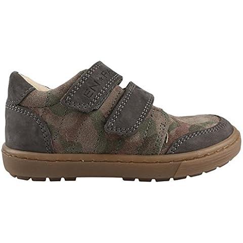 EN-FANT Unisex, zapatos de running de cuero, velcro 815020