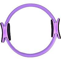 Alomejor Fitness Pilates Ring 3 Farben wählbar Gummi Magic Fitness Kreis Pilates Doppelgriff Ring Kräftigungstraining der Oberkörper-, Arm- und Beinmuskulatur