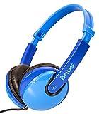 Snug Plug n Play Écouteurs / Casque Pour Enfants Style de DJ (Bleu)