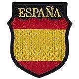 Gemelolandia | Parche Termoadhesivo del Escudo de Brazo de la División Azul de voluntarios Españoles 7x6cm | Muy Adherentes |