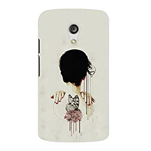 Back cover for Moto G (2nd Gen) Abstract Illustration