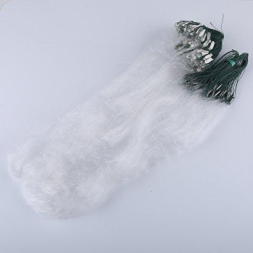VGEBY 1,2x30M Angelnetz Fischerei Cast Netze mit Float(3 Finger)