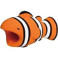 Crewell - Protector de Cable para iPhone, Diseño de Animales, Protector Cubre para Celular, Universal Electronics Accessories (Pescado)