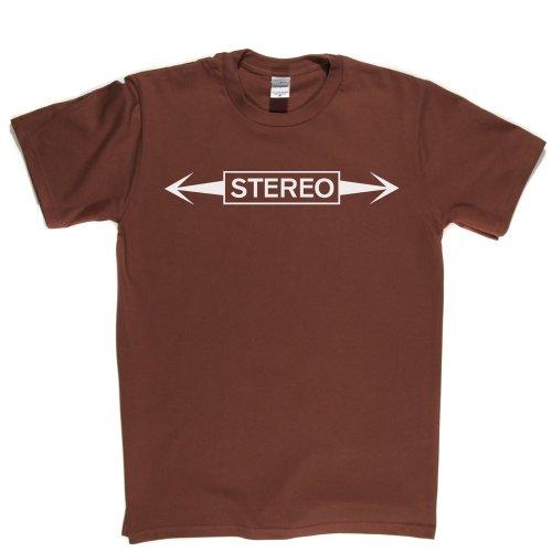 Stereo Rock Lifestyle Tee T-shirt Braun