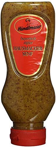 Händlmaier's Hausmachersenf süß Squeeze-Flasche, 225 ml