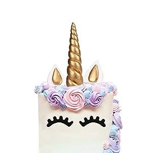 AIEX Cake Topper, Oro Hecho