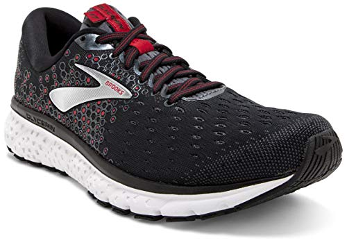Brooks Glycerin 17, Scarpe da Running Uomo, Nero (Black/Ebony/Red 021), 40 EU