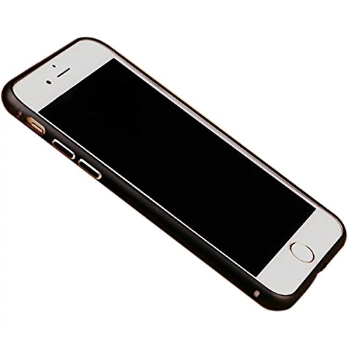 Case pour iPhone 7plus, Ultra Slim Super Soft TPU silicone avec la mode Placage Craft, motif en ¨¦toile, Violet Noir