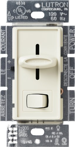 Lutron scl-153p-la Skylark CL 150-watt CFL/LED/, weißleuchtend Dimmer, Light lackiert by Lutron - Lutron Dimmer