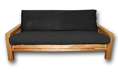 Divani Letto, copertina nera, 200x140 cm