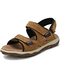 Fucasso Men's Synthetic Beige Outlander Sandals