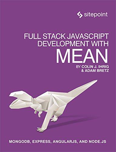 Preisvergleich Produktbild Full Stack JavaScript Development With MEAN