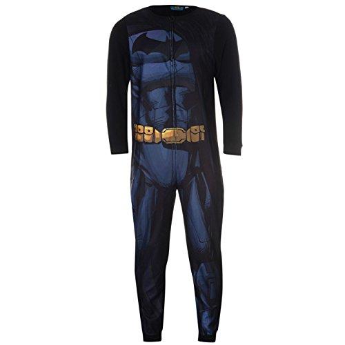 DC Comics Mens Batman Onesie Nightwear For Adults