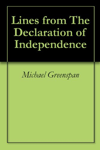 Lines from The Declaration of Independence (English Edition)