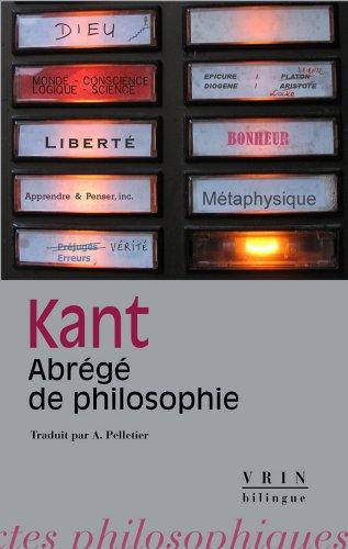 Abrégé de Philosophie