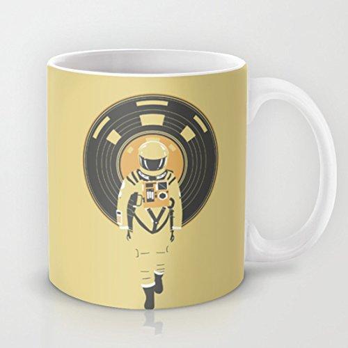 HAL 9000 QoiueoF DJ tazas blancas - 11 onzas