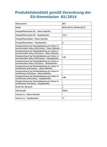 AEG BP5013021M Einbau Backofen - 3