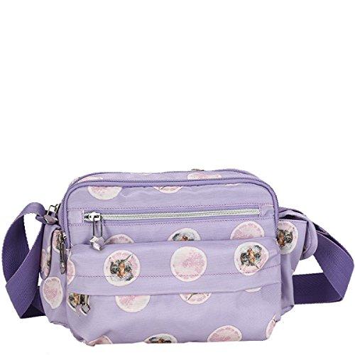 Donne Borse Yy.f Nuove Donne Pacchetto Diagonale Messenger Pacchetti Viaggi Di Piacere Borse A Tracolla A Tre Colori Purple