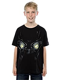 Marvel Boys Black Panther Eyes T-Shirt