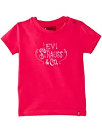 Levi's Baby Girl's N91068A - 85 Short Sleeve T-Shirt