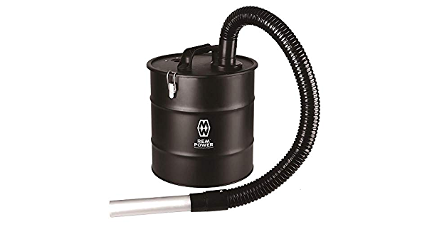 HEPA Filtration AUTLEAD Powerful Cyclonic Bagless Cylinder Ash Vacuum Cleaner Dust、Debris and Ash Collector for Fireplaces-AVC01A 2.3M Extendable Hose 18L 900W Compact Whirlwind Ash Suction