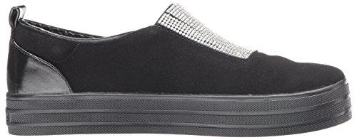 Skechers, Sneaker Donna Argento Argenté Noir / Noir