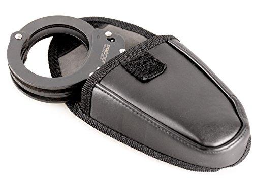 Robuste, matt-schwarz brünierte Handschelle  Abbildung 3