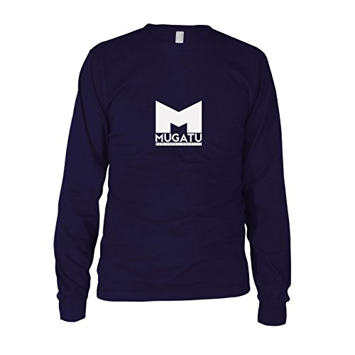 Mugatu - Herren Langarm T-Shirt, Größe: L, dunkelblau (Mugatu Kostüm)