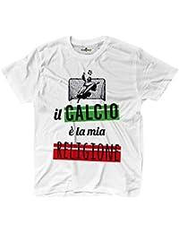 Camiseta hombre fútbol divertido Moda Fashion Funny Fútbol la mia Religione kiarenzafd Streetwear Shirts,…
