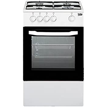 Cucina a gas 50x50x85 cm 4 fuochi con forno a gas: Amazon.it ...